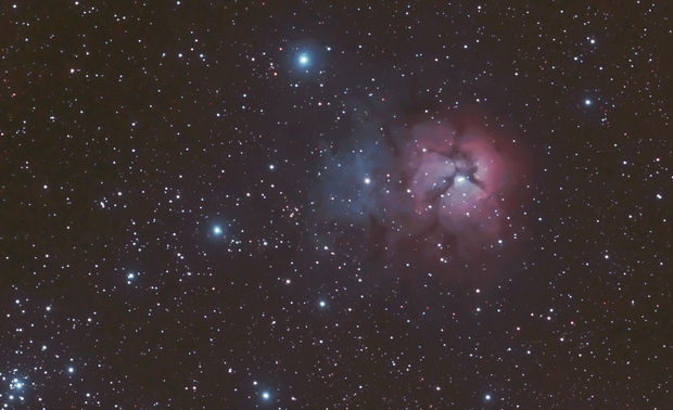 M20 Trifid Nebula,                                Djt