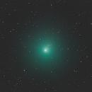 46P -Wirtanen 2018.12.08 ripresa negli unici 10 minuti di cielo sgombro da nubi  Celestron C14HD + Hypestar F1.9  ASI294Pro  10M,                                Alessandro Bianconi