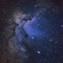 NGC 7380,                                Elboubou