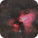 M17  Omega (Swan) Nebula,                                oystein