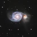 M51 - LRGB,                                Peter Komatović