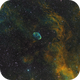 Crescent  nebula SHO,                                Janos Barabas