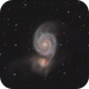 M51 - Whirlpool Galaxy,                                Joe Fox