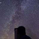 Me, my telescope and a fireball,                                Daniele Gasparri