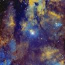 Gamma Cygni Nebula Hubble Palette,                                Francesco Di Cencio