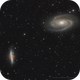 M81 and M82, Bode's and Cigar Galaxies [Drizzled x2],                                Vincent Bchm