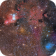 Cone Nebula Complex - 6 Panel Mosaic,                                Scott