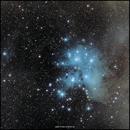 Plejaden im Sternbild Stier - M45 in Tau,                                firstLight