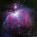 Great Nebula in Orion - M42,                                Bruce Rohrlach