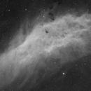QHY268M - first light - NGC1499 Ha,                                Nico Carver