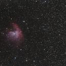 [Neb] NGC281 (Nébuleuse Pacman) @Calern,                                Raypulsif