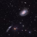 NGC4725 and NGC4712 in Coma Berenice,                                Arnaud Peel