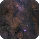 M8 Lagoon Nebula Region,                                Martin Lysomirski