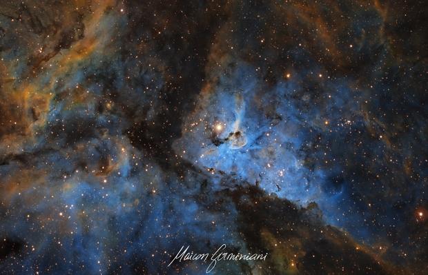 Eta Carinae SHO version,                                Maicon Germiniani