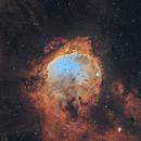 NGC 3324 Gabriela Mistral Nebula 20210526 10800s SHO 01.5.2,                                Allan Alaoui