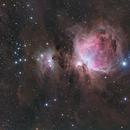 Nebulosa di Orione (m42, m43),                                Andrea Ferri