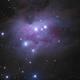 The Running Man Nebula,                                Nicholas Jones