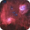 IC 405 & IC 410 Widefield,                                Pleiades Astropho...