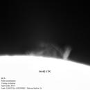 Solar prominence Ha, 11mins evolution,                                Massimiliano Veschini