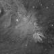 Fox Fur Nebula/Cone Nebula Medium Field in Halpha,                                mikefulb