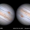 Jupiter and GRS (second video),                                MAILLARD
