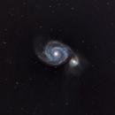 Whirlpool Galaxy,                                James R Potts