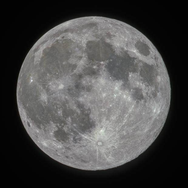 2019 February Lunar Perigee,                                Benjamin Olry