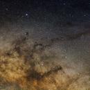 Pipe nebula with Rho Ophiuchi region,                                Matt Schulze