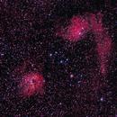 Flaming Star Nebula & the neighborhood @ 300mm,                                Vencislav Krumov