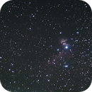 First try with my new ASI 183 MC Pro - Wide Field NGC2024 and IC434,                                Hans-Peter Olschewski