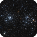 Double Cluster NGC 869 & NGC 884,                                Martin Dufour