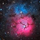 High definition Trifid Nebula from Telescope Live,                                Mauricio Christiano de Souza