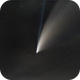 NEOWISE Comet C2020 F/3 Wide Field in the clouds,                                Cyril NOGER