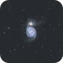 M51 Whirlpoolgalaxy,                                Joostie