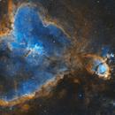 IC1805 & IC1795 Heart & Fish Nebulas (2 panels mosaic),                                Matthieu Martin