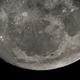 Waxing Gibbous Moon - 98.2 Illuminated - Lower Half OSC,                                Chris Dee