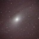 M31 Andromeda Galaxy,                                Dylan Woodbrey