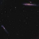 NGC 4631 Whale NGC4656 Hockey Stick,                                sbakker