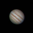 Jupiter et fin du passage de la Grande Tâche Rouge,                                nzv