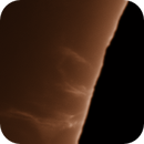 Very Faint Solar Prominences Captured,                                Chuck's Astrophot...