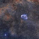 Crescent NGC6888 + PN G75.5+1.7 (sehr, sehr schwach),                                Oliver