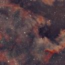 NGC 7000  - montage HDR,                                Eric COUSTAL ( F5ODA )