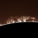 Protuberanza Solare,                                gioveluna