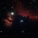 Horse Head & Flame Nebulas IC 434,                                Starman609