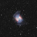 M27 HOO - The Dumbbell Nebula,                                Zheng Fu