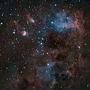 IC410 HA-OIII,                                Stephane