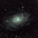 M33 desde Tiermes,                                Miquel