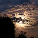 Moon behind clouds,                                AC1000