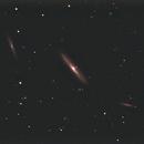 NGC-4216 in the Virgo cluster,                                Bob Scott