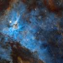Part of NGC3372 Eta Carina,                                Tian Li 李天